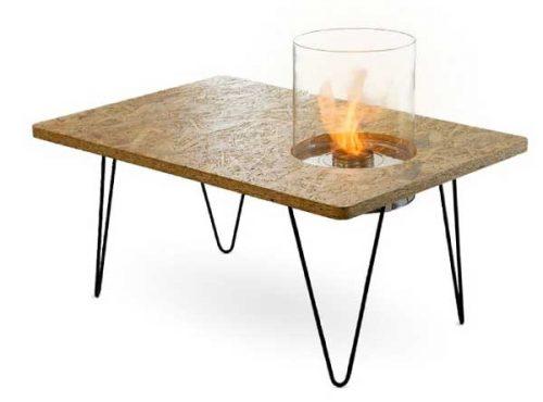 Mini vrtna miza na bioetanol